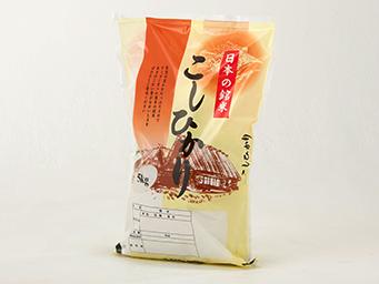 フィルムの米袋の特長