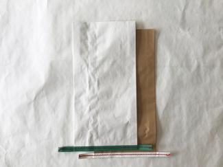赤糸 イージーオーダー 晒(白) 小サイズ
