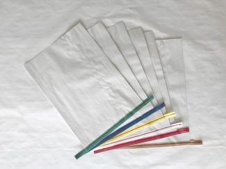 赤糸  イージーオーダー 晒(白) 大サイズ