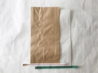 赤糸  イージーオーダー 未晒(茶) 小サイズ