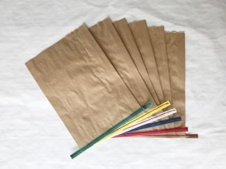 赤糸  イージーオーダー 未晒(茶) 大サイズ
