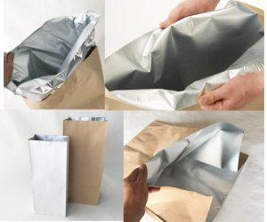 アルミ入り紙袋