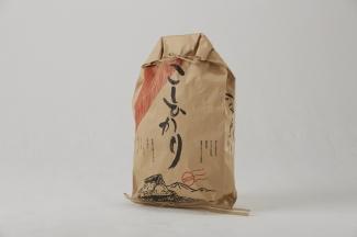 米規格 ミシン底 ひも付き紙袋