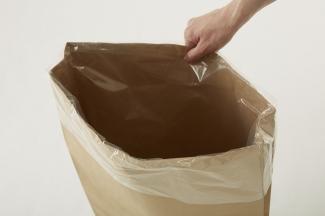 ポリ袋入り紙袋