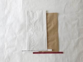 黒糸 イージーオーダー 晒(白) 小サイズ