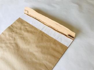 Wイージーフラップ付き(両面テープ付き紙袋)