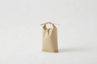 BP-24 ミニチュア(ポリ内袋入り)ひも付き舟底紙袋