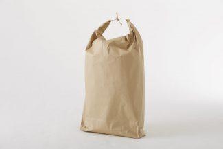 ひも付き紙袋 片舟底・防湿タイプ(ポリシート入り)※別注対応品
